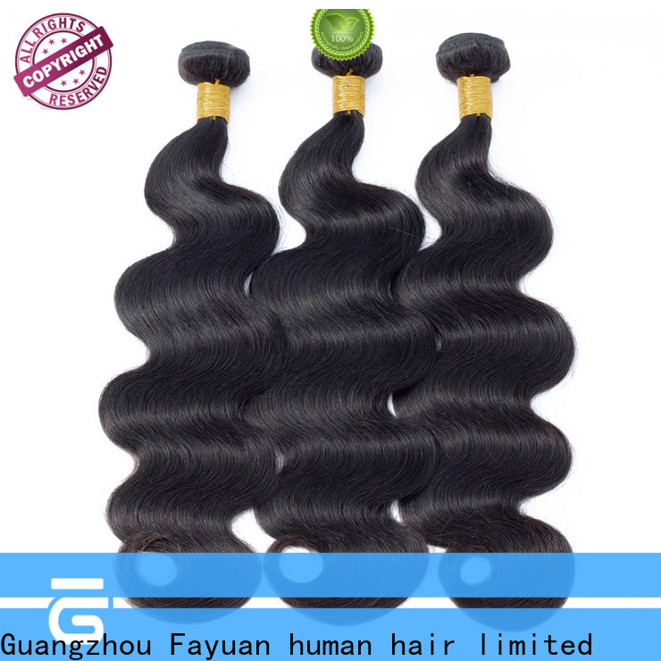 Fayuan Hair Custom curly hair extensions for business for street
