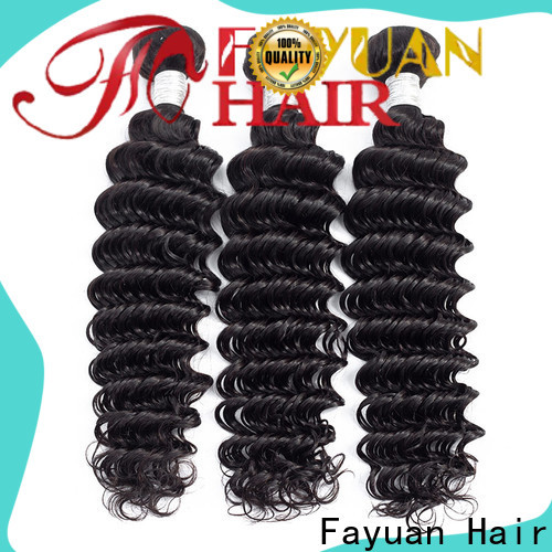 Fayuan Hair Wholesale peruvian human hair weave for business for street