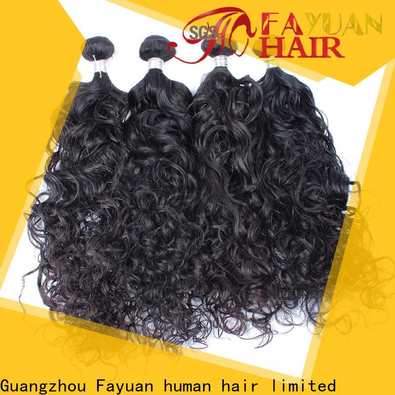 Fayuan Hair human malaysian curly hair bundles for business for barbershopp