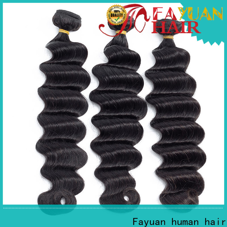 Wholesale black hair extensions loose for business for barbershop