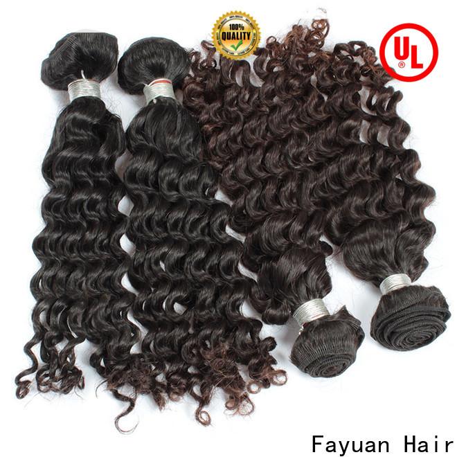 Fayuan Hair deep cheap malaysian hair factory for barbershopp