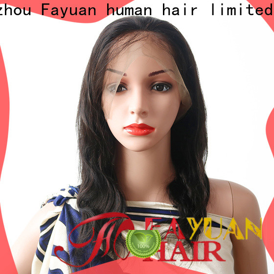 Fayuan Hair Top lace wigs online company for selling