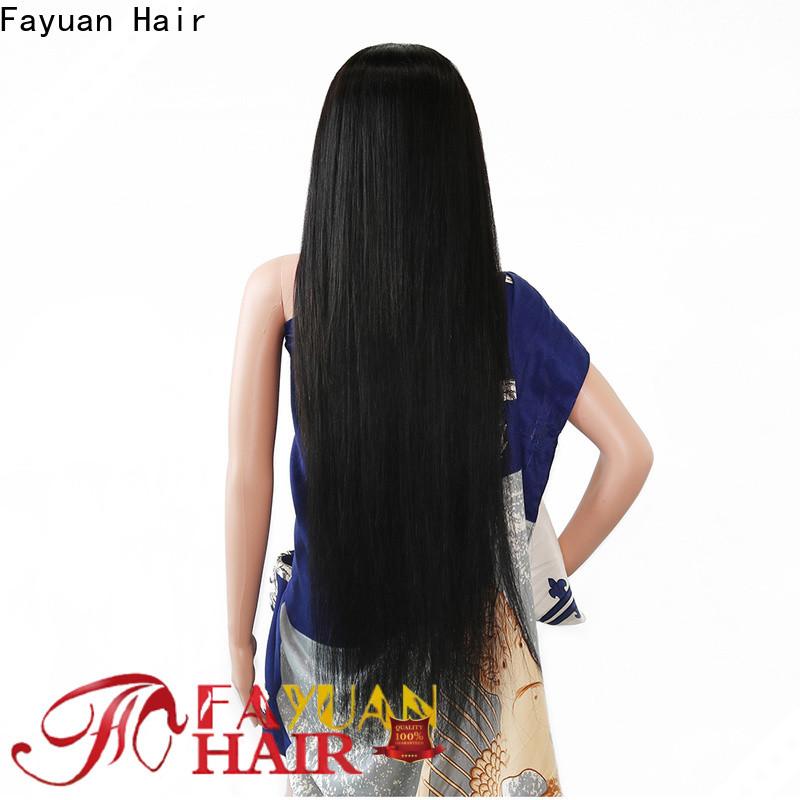 Fayuan Hair lace custom full lace human hair wigs Supply for women