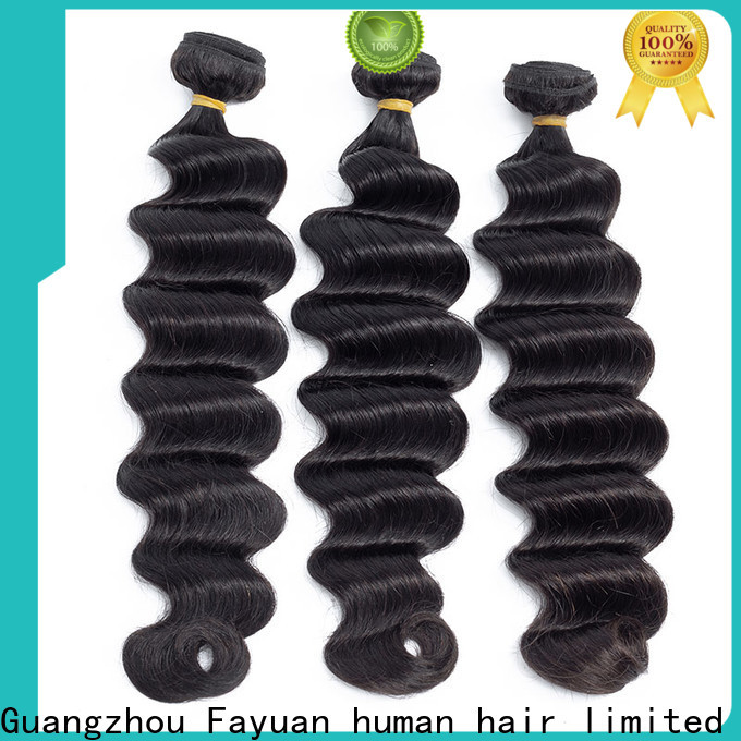 Fayuan Hair hair raw indian hair wholesale Supply for selling