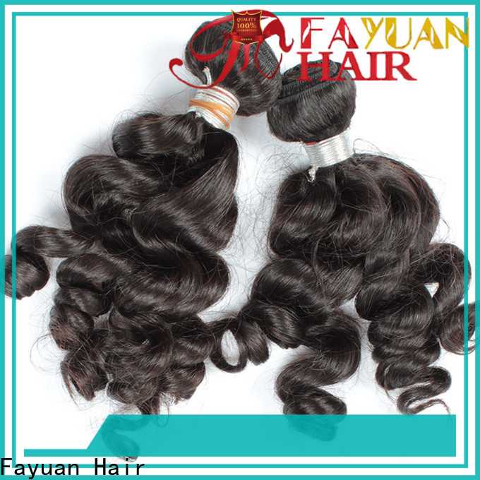 Fayuan Hair wave wholesale indian hair manufacturers for barbershop