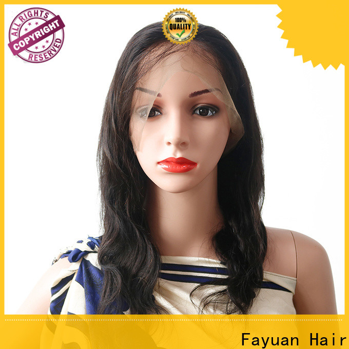 Fayuan Hair New lace wig with bangs manufacturers for street