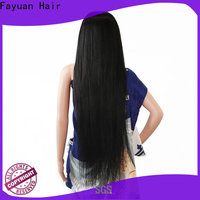 Fayuan Hair Top customize your own wig factory for men
