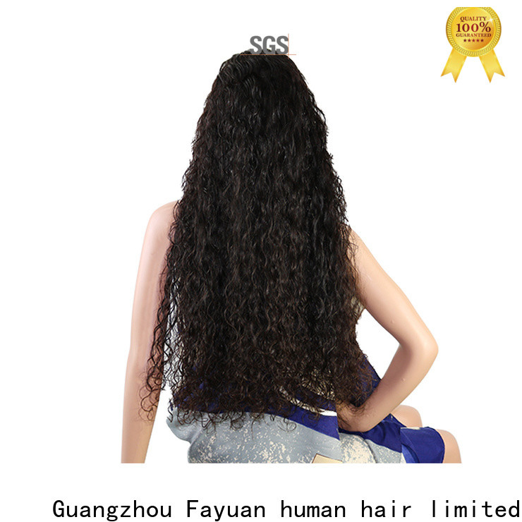 Fayuan Hair sales custom made wigs near me Suppliers for barbershop