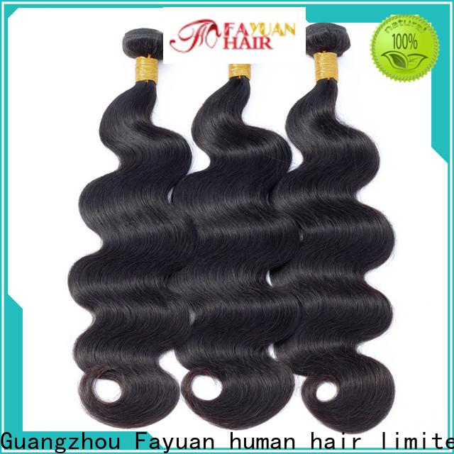 Fayuan Hair New natural peruvian hair Suppliers for selling