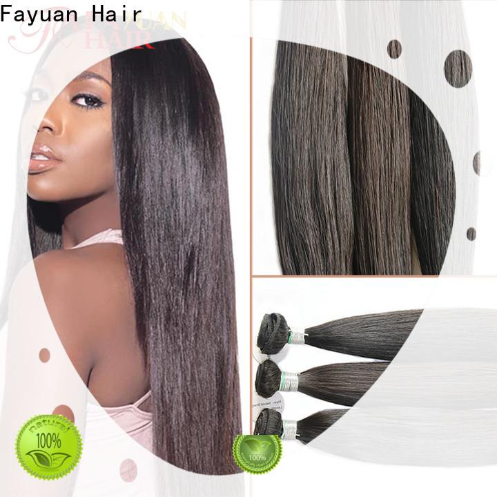 Fayuan Hair cuticle full lace human wigs manufacturers for barbershop
