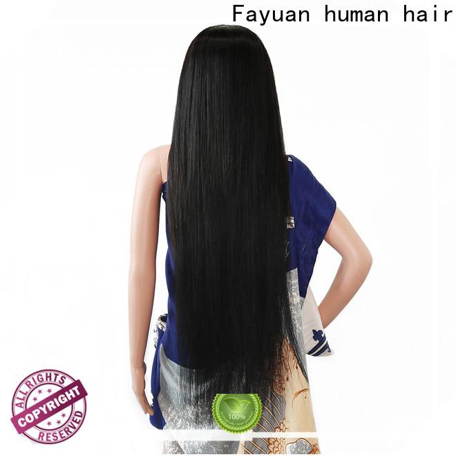 Fayuan Hair Custom custom made real hair wigs Supply for street