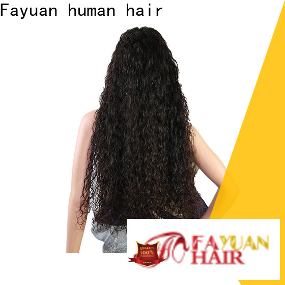 Fayuan Hair hair best custom lace front wigs for business for barbershop