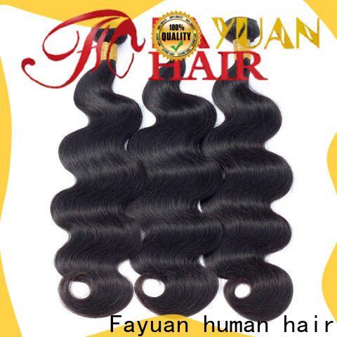 Fayuan Hair body peruvian human hair Suppliers for street