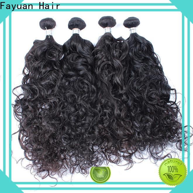 Fayuan Hair virgin malaysian hair weave factory for selling