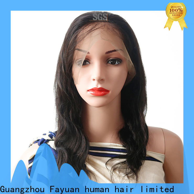 Fayuan Hair Best best full lace wigs online for business for men
