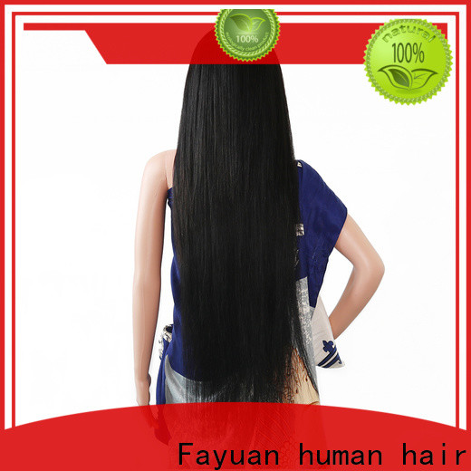 Fayuan Hair frontal custom order lace wigs company for men
