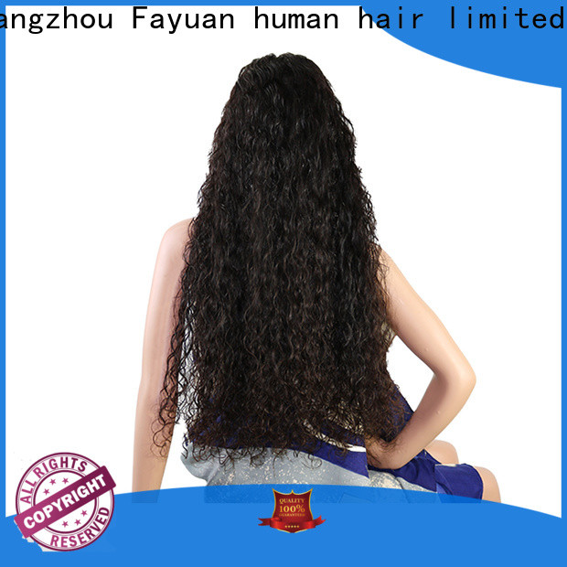 Fayuan Hair frontal custom human hair lace front wigs for business for women