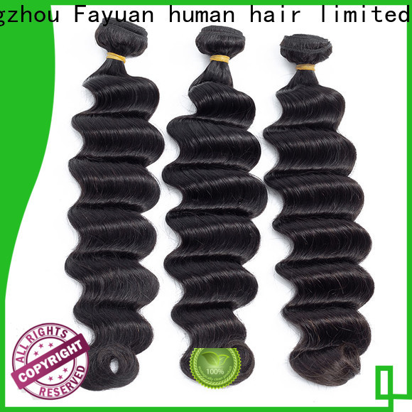 Fayuan Hair wave indian human hair weave factory for selling
