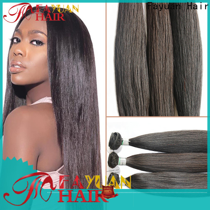Fayuan Hair aligned full lace front wigs factory for selling