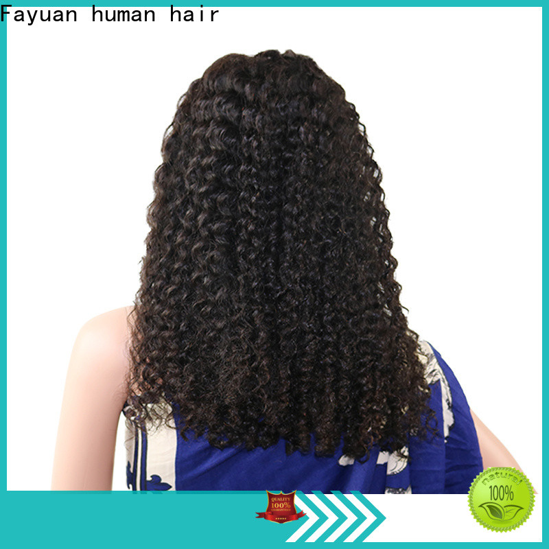 Fayuan Hair frontal best lace front wigs online Supply for men