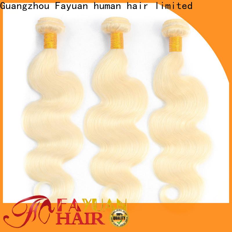 Fayuan Hair New brazilian hair factory for selling