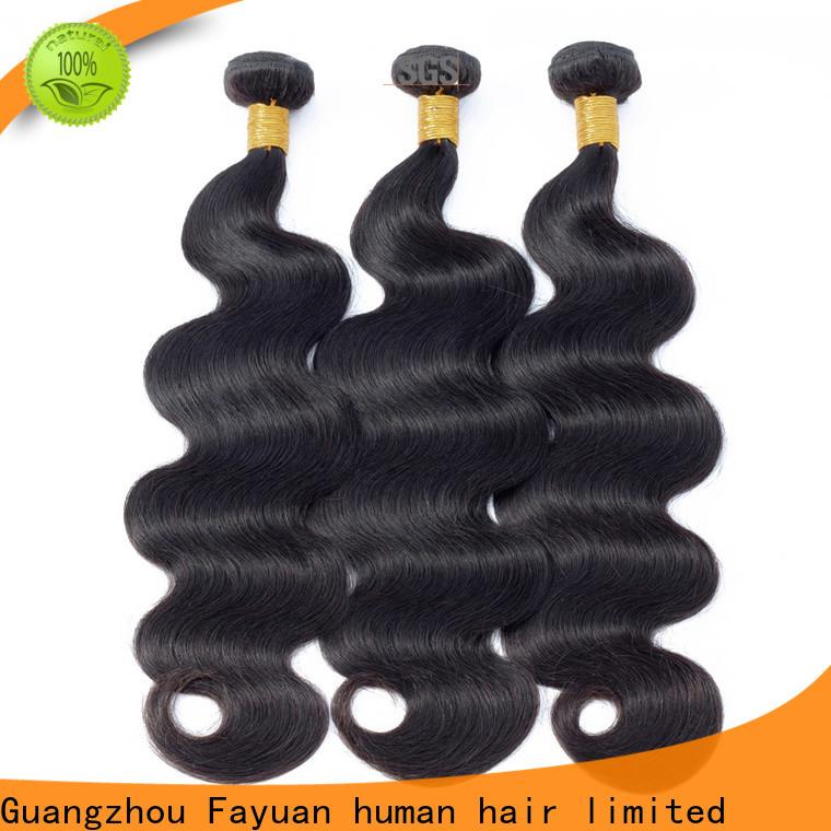 Fayuan Hair weave peruvian wavy hair bundles for business for street