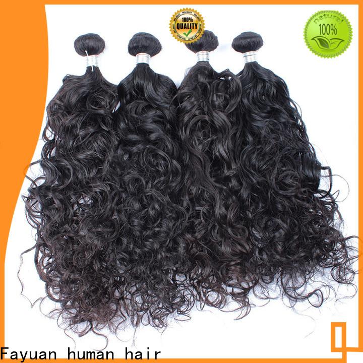 Fayuan Hair loose malaysian hair weave company for selling