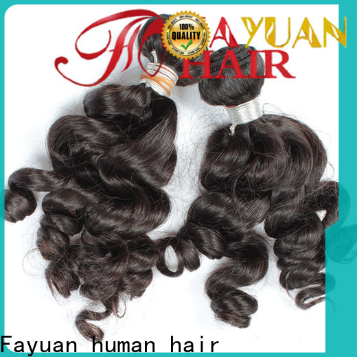 Fayuan Hair virgin indian curly hair weave for business for selling