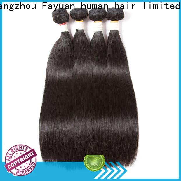 Fayuan Hair quality virgin brazilian hair bundle deals Suppliers for barbershop