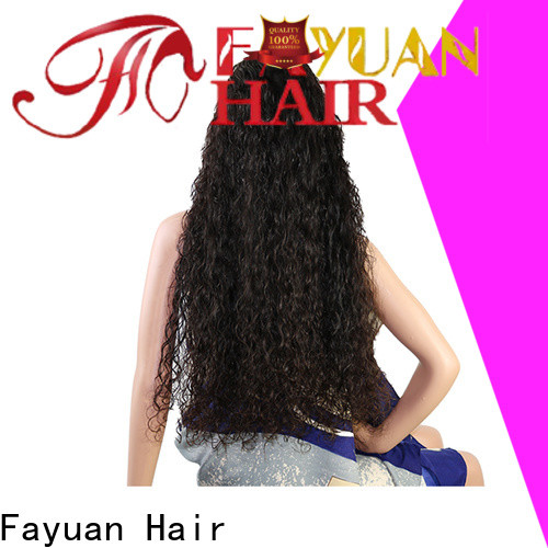 Fayuan Hair New custom lace wigs Supply for men