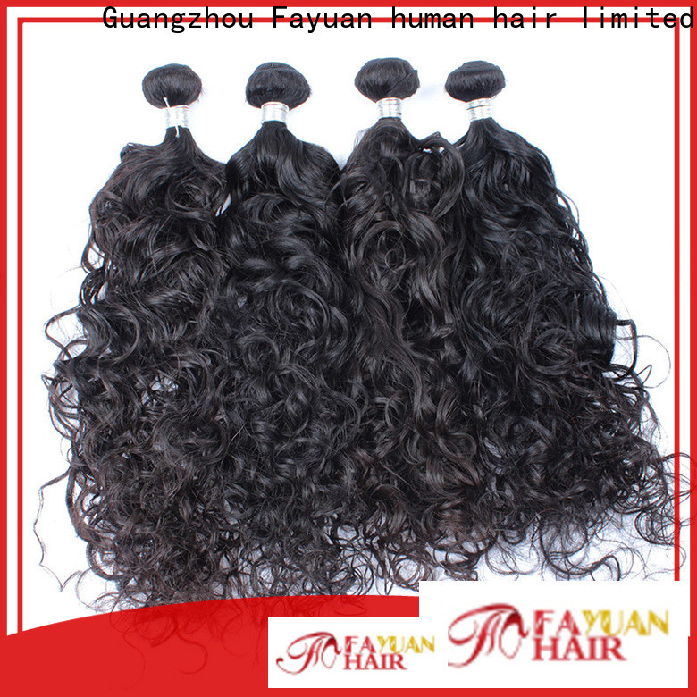 Wholesale malaysian natural wave weave wave company for selling