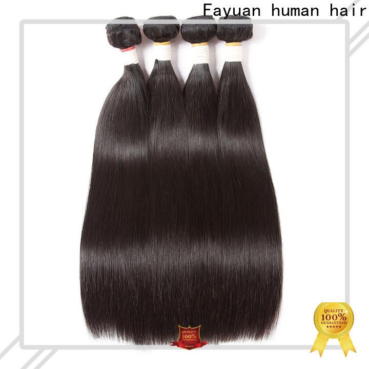Fayuan Hair Custom brazilian hair suppliers Suppliers for women
