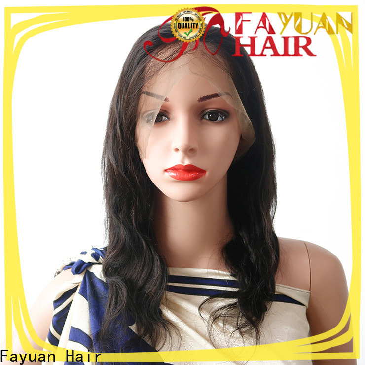 Fayuan Hair New lace wigs for sale manufacturers for men