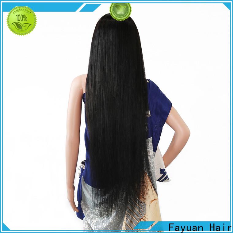 Fayuan Hair wig custom full lace human hair wigs company for barbershop