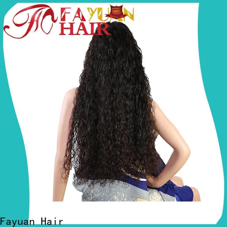 Fayuan Hair hair custom made full lace wigs manufacturers for women
