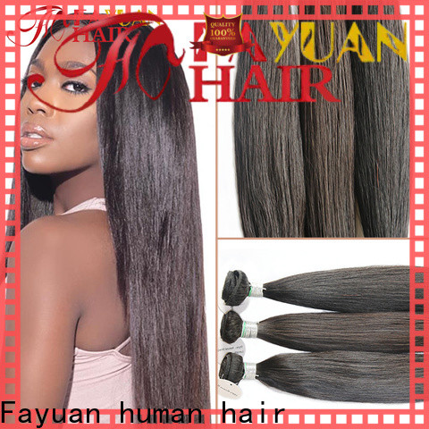 Fayuan Hair unprocessed full lace human hair Suppliers for women