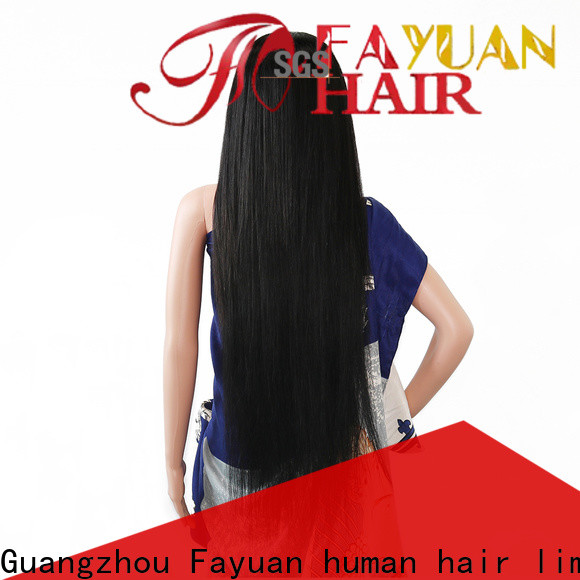 Fayuan Hair Custom custom color full lace wigs Suppliers for barbershop