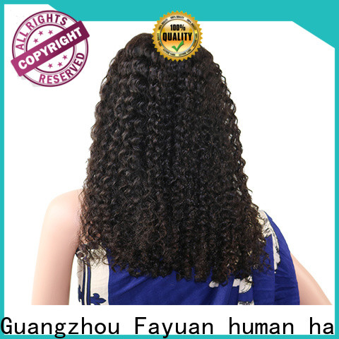 Latest natural hair lace front wigs frontal Suppliers for street