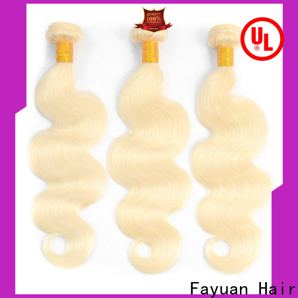 Fayuan Hair body real brazilian hair extensions Suppliers for women