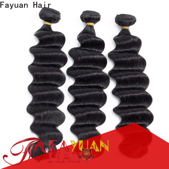 Fayuan Hair wave indian human hair factory manufacturers for barbershop