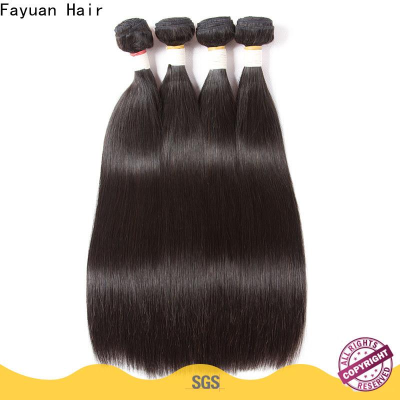 Fayuan Hair High-quality brazilian human hair extensions manufacturers for barbershop