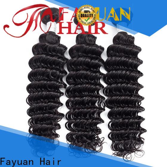 Fayuan Hair curly peruvian curly human hair manufacturers for women