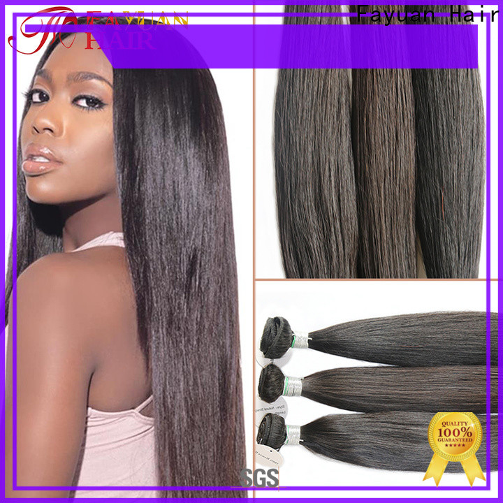 Fayuan Hair unprocessed quality full lace wigs factory for selling