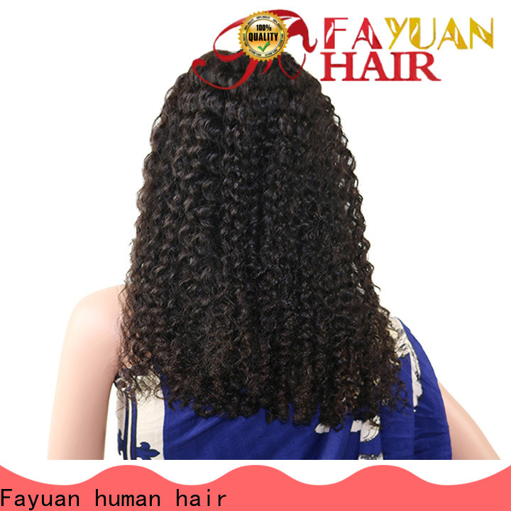 Custom popular lace front wigs grade manufacturers for women