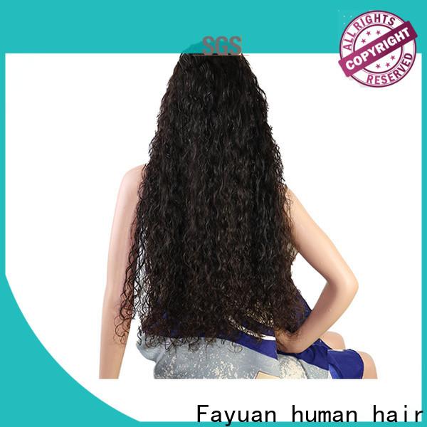 Fayuan Hair price custom wig shop Supply for street