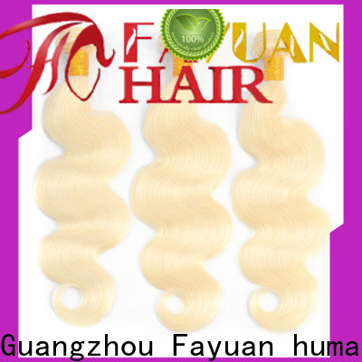 Fayuan Hair Custom brazilian hair extensions for business for barbershop