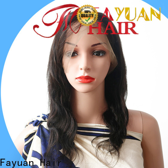 Fayuan Hair New human lace wigs company for street