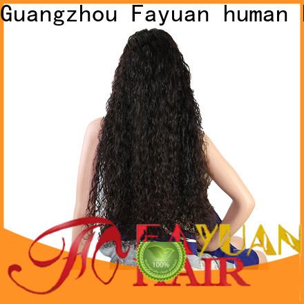 Best customized wig virgin factory for selling