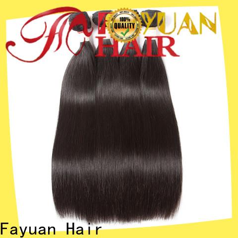 Fayuan Hair virgin human hair weave bundles Suppliers for selling