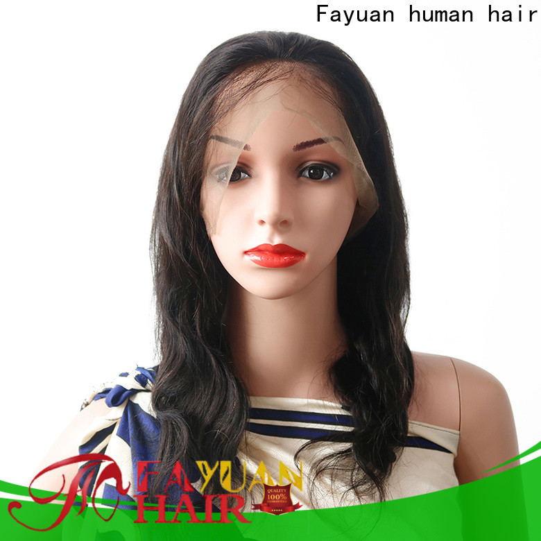 Fayuan Hair human best lace wigs Suppliers for street